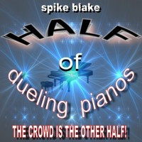 Half of Dueling Pianos Show - Singing Pianist in Plano, Texas