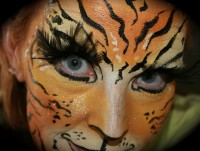 Picasso Face and Body Painter - Mardi Gras Entertainment in Virginia Beach, Virginia
