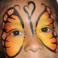 Pinky Face Painting - Face Painter in Friendswood, Texas