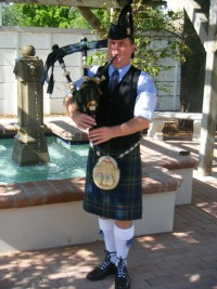 Pipe Major Graeme Massie