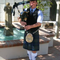 Pipe Major Graeme Massie - Celtic Music in Hallandale, Florida