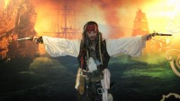 Dwight V Coleman as Capt Jack - Renaissance Entertainment in Anaheim, California