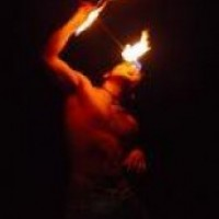 The Coy Experience - Fire Eater in Mission, Texas