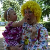 Pom Pom the Clown - Face Painter in Yuba City, California