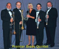Premier Brass Quintet - Trombone Player in ,
