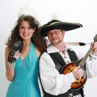 Princess Amy and Pirate Rob - Pirate Entertainment in Annapolis, Maryland