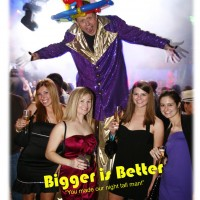 Productive Productions - Stilt Walker in Aspen, Colorado