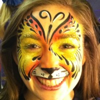 Professional Face Painter - Horse Drawn Carriage in Riverside, California