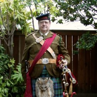 Professional Piper Iain Sherwood - Bagpiper in Napa, California