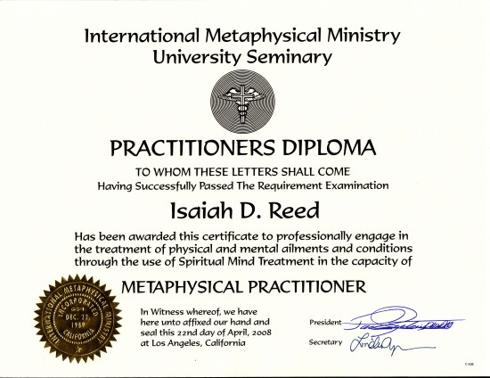 Metaphysical Practitioner