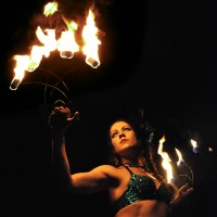 Pyro Fusion Entertainment - Fire Dancer in Mission, Texas