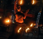 Fire Hip Belt and Fire Eating