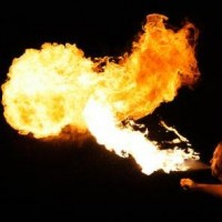 Pyrophilia - Fire Dancer in Biloxi, Mississippi