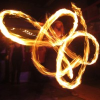 Pyrophilia - Fire Dancer in Silver Spring, Maryland