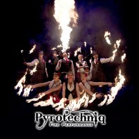 Pyrotechniq - Fire Dancer in Traverse City, Michigan