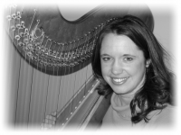 Rachael Pate - Harpist in Flint, Michigan