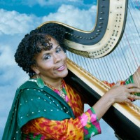 Radha Botofasina - Harpist in Gallup, New Mexico