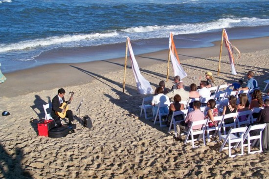 Beach Wedding in the Outer Banks, NC
