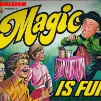 "Raleigh  "" Fun with Magic "" - Sideshow in Santa Ana, California"