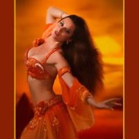 Rania Bossonis, Bellydance Superstar - Dance in Brea, California
