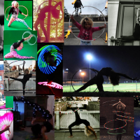 Raven Rainbow - Hoop Dancer / Circus Entertainment in Fredericksburg, Virginia