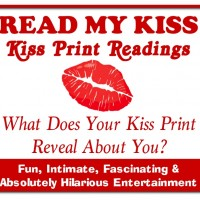 READ MY KISS - Kiss Print Readings - Mardi Gras Entertainment in Santa Barbara, California