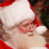 Real Bearded Santa Claus - Storyteller in Winchester, Massachusetts