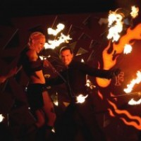 Red Swan Entertainment - Fire Dancer in Newport Beach, California