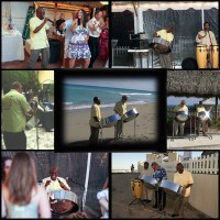 Reel Ting Steel Drum Band - Drum / Percussion Show in Miami Beach, Florida