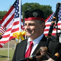Richard Kean - Texas Professional Bagpiper - Irish / Scottish Entertainment in Bryan, Texas