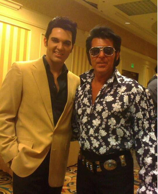 Richie Santa and Cody Slaughter in Vegas Elvisfest 20111