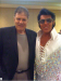 With Steve Binder the producer of the 1968 comeback special. THis was taken at the Hilton in Vegas 2011