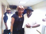 Cedric the entertainer and Deborah Delk