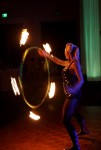 Fire hooping