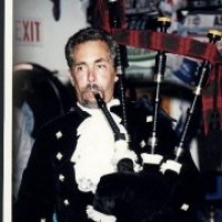 Robert Burns, Bagpiper - Celtic Music in San Marcos, California