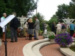 Garden Reception at Governors Mansion