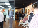 Webster Art gallery opening