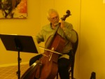 Playing Cello at Salt Restaurant