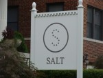 Salt Restaurant sign