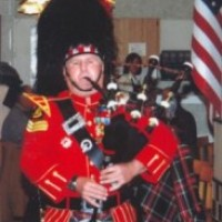 Robert J. White - Bagpiper in New Bern, North Carolina