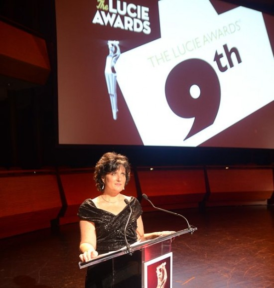 Host of 2011 Lucie Awards Lincoln Center
