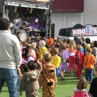 Robo Party Band - Inflatable Movie Screen Rentals in Sacramento, California