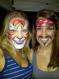 ROCK-N-FACES Face Painting & Airbrush Tattoos