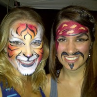 ROCK-N-FACES Face Painting & Airbrush Tattoos - Temporary Tattoo Artist / Face Painter in Jupiter, Florida