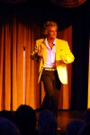 Danny D performing his Rod Stewart Tribute Show