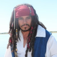 Roger Bryant As Johnny Depp/Jack Sparrow - Impersonator in El Paso, Texas