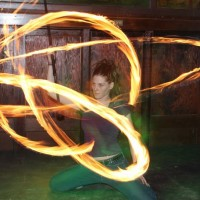 Rose Ashes, Fire Dancer - Medieval Entertainment in ,
