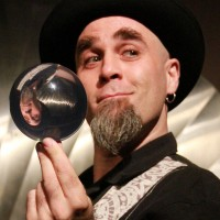 Russ Sharek - Mime in Biloxi, Mississippi