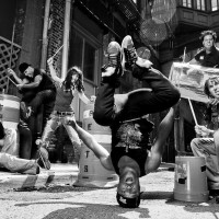 Industrial Rhythm - Acrobat in Brooklyn, New York