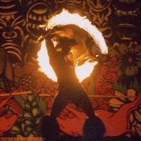Sala's South Seas Revue - Fire Performer in Orlando, Florida